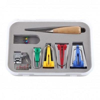 Kit de accesorios para cinta al bies