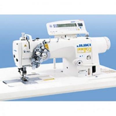 Máquina de coser industrial de dos agujas desembragables. Juki lh-3588asf-7wb
