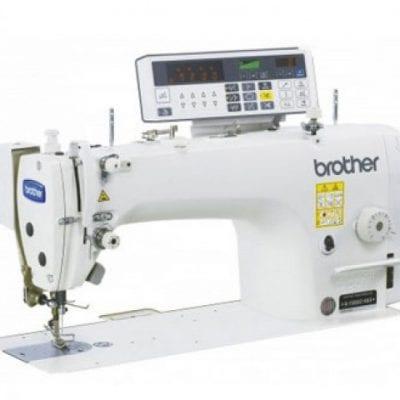 Máquina de coser industrial de puntada recta de una aguja brother s-7220c