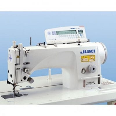 Máquina de coser industrial doble arrastre juki dln-9010ass
