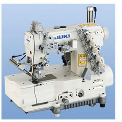 Máquina industrail recubridora con cortahilos de base plana juki 7523 u11
