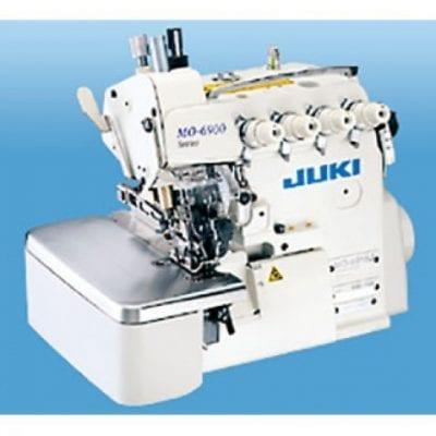 Máquina overloockc de tres hilos para unir testa juki mo-6904g