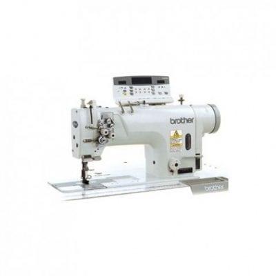 Máquina de dos agujas, doble arrastre y garfio grande brother t-8720c-005