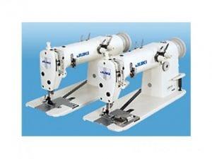 Máquina industrial para hacer cadeneta de dos agujas. Juki mh-380-fu