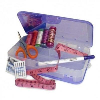 Caja de accesorios doble