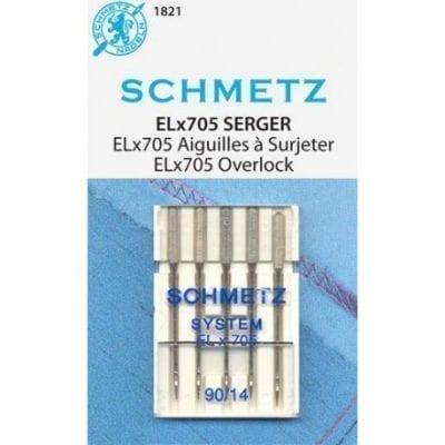 Schmetz ELx705 80/12 y 90/14