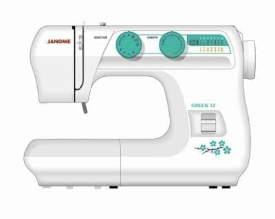 Janome 3612 Green-12